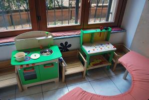 Segundo Federica, os brinquedos são todos feitos com madeira certificada e tratados com verniz atóxico